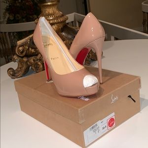 Christian Louboutin, Nude, New Very Prive 120